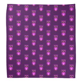Owly púrpura TP Bandana