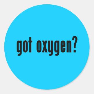 ¿oxígeno conseguido? pegatina