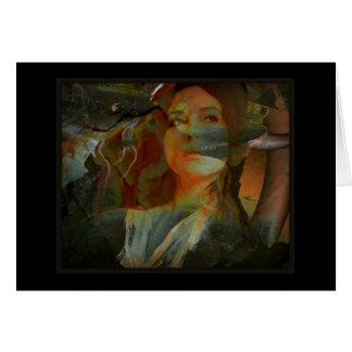 Oya, diosa de los vientos y del viaje felicitacion