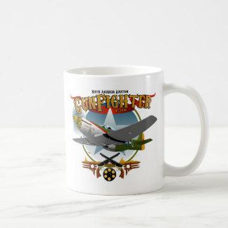P51 Gunfighter 2 Taza De Café