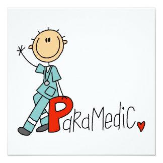 P está para el paramédico anuncio personalizado