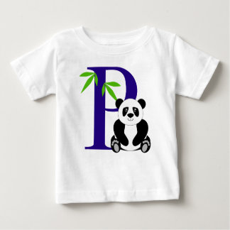 P está para la panda camiseta