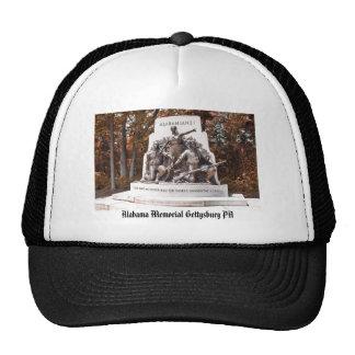PA conmemorativo de Alabama Gettysburg Gorros