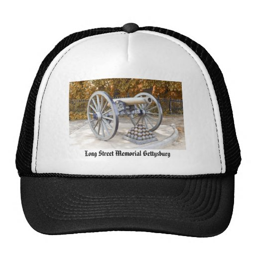 PA conmemorativo de Gettysburg de la calle larga Gorra