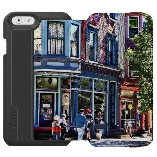 PA de Jim Thorpe - compras de la ventana Funda Cartera Para iPhone 6 Watson