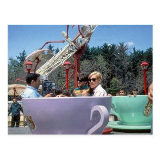 PA rocoso de Moosic del parque de atracciones de l Postales