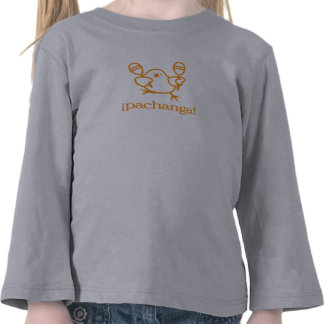 ¡pachanga del ¡! ¡= fiesta! camisetas
