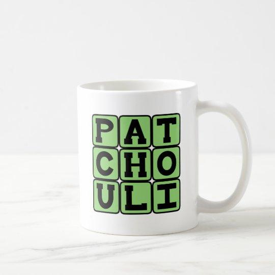 Pachulí, aceite del Hippie Taza De Café