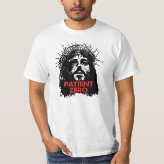 Paciente cero del zombi de Jesús Camisetas