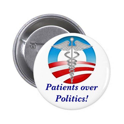 ¡Pacientes sobre políticas! Pins