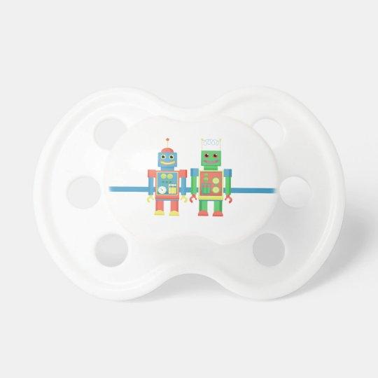pacifer del robot chupete