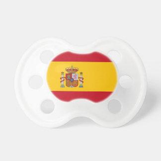 Pacificador con la bandera de España Chupetes Para Bebés