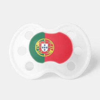 Pacificador con la bandera de Portugal Chupete