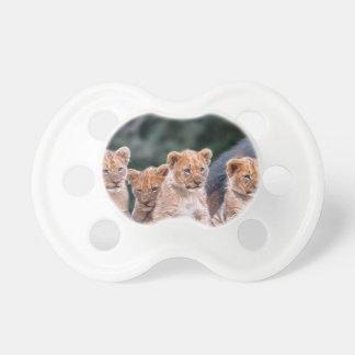 Pacificador de Cubs de león del bebé Chupete