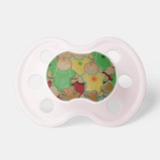 Pacificador de la galleta del bebé chupete de bebé
