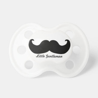 Pacificador del bigote del caballero chupetes para bebés