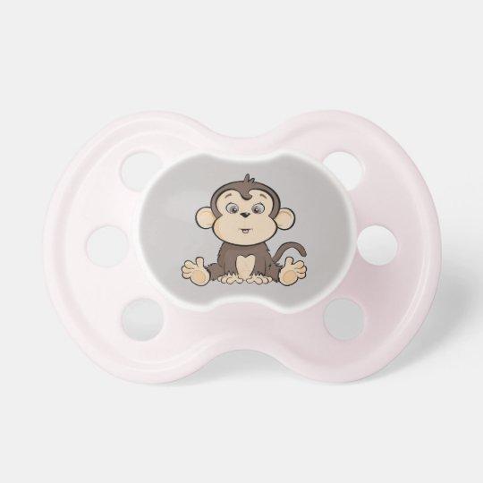 Pacificador del niño del estilo del mono chupete