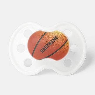 Pacificador del personalizado del baloncesto chupetes