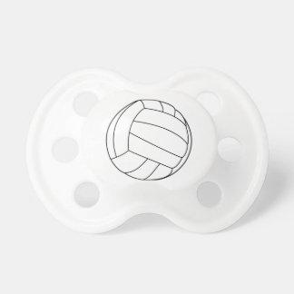 Pacificador del voleibol chupetes para bebes