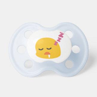 Pacificador durmiente de Emoji Chupete De Bebé