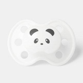 Pacificador lindo de la panda chupete