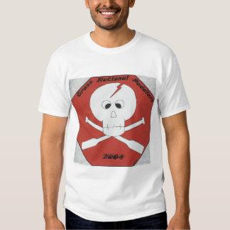 paddlers nacionales gruesos 2004 camisetas