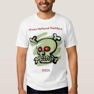 paddlers nacionales gruesos 2005 camisetas