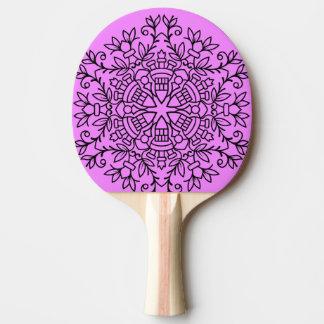 Padle del ping-pong con los ornamentos pala de ping pong