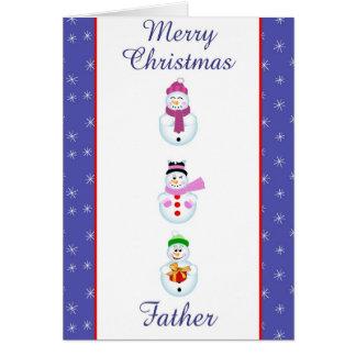 Padre de Navidad Tarjeta De Felicitación