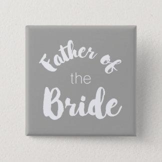 ¡Padre del botón de la novia - colores de encargo!
