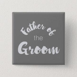 ¡Padre del botón del novio - colores de encargo!