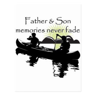 Padre e hijo postales
