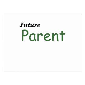 Padre futuro tarjetas postales
