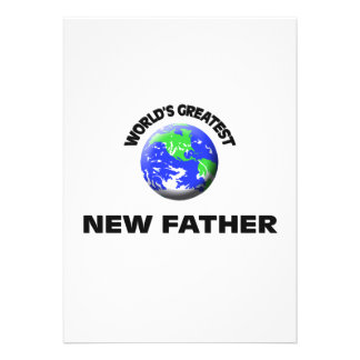 Padre más grande del mundo el nuevo invitaciones personales