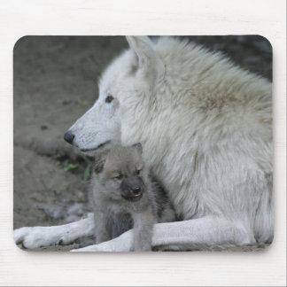 Padre Mousepad del lobo