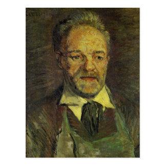 Padre Tanguy de Vincent van Gogh Postal