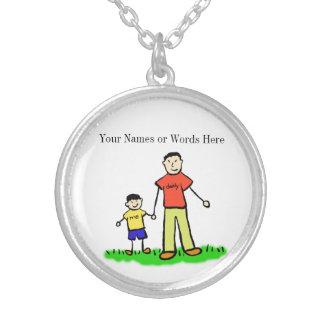 Padre y collar modificado para requisitos