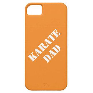 Padres de las ideas del regalo del papá del karate iPhone 5 Case-Mate funda