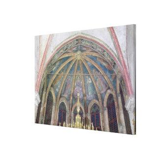 Padres y apóstoles benedictinos, de la cámara acor impresión en lienzo