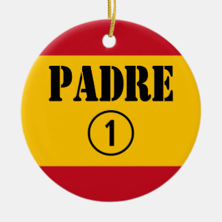 Padres y papás de habla hispana: Uno de Padre Adorno Redondo De Cerámica