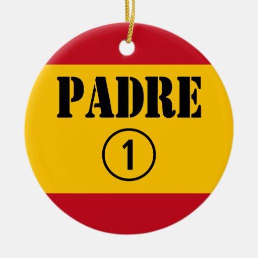 Padres y papás de habla hispana: Uno de Padre Nume Ornaments Para Arbol De Navidad