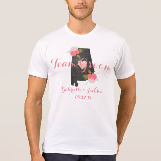 Padrino de boda del banquete de boda del estado de camiseta