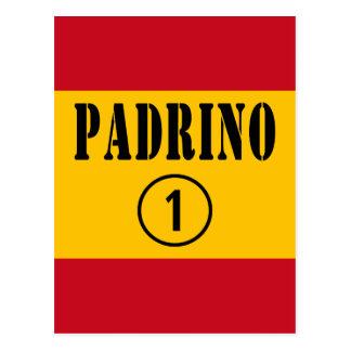 Padrinos españoles: Uno de Padrino Numero Tarjetas Postales