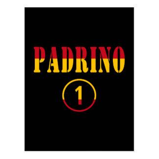 Padrinos españoles: Uno de Padrino Numero Postales