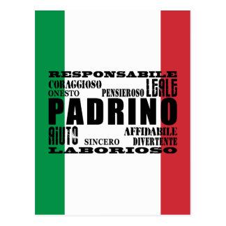 Padrinos italianos: Calidades Postal
