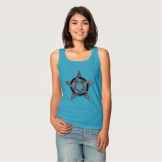 Pagan de la estrella o camisetas sin mangas