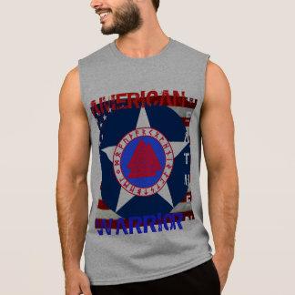 Pagano americano--Fuerza aérea Camiseta Sin Mangas