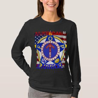 Pagano americano--Policía Camiseta