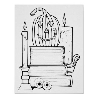Página adulta de papel de tarjetas del colorante póster