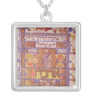 Página del Mishneh Torah, código sistemático Colgante Cuadrado